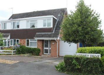 Thumbnail 3 bed semi-detached house for sale in Verney Drive, Stratford-Upon-Avon