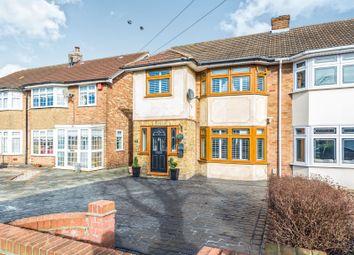 Thumbnail 3 bedroom semi-detached house for sale in Lovell Walk, Rainham
