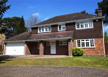 Thumbnail 4 bed detached house for sale in Youlden Drive, Camberley, Surrey