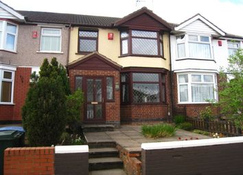 Thumbnail 3 bed terraced house for sale in Forknell Avenue, Wyken, Coventry