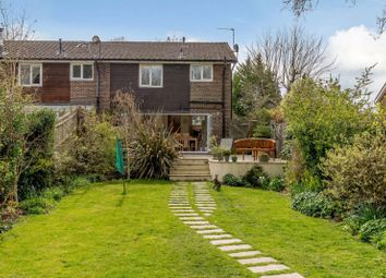 Thumbnail 4 bed semi-detached house for sale in Northcroft Close, Englefield Green, Egham