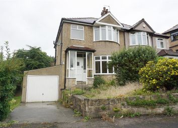 Thumbnail 3 bed semi-detached house for sale in Hallfield Drive, Baildon, Shipley, West Yorkshire