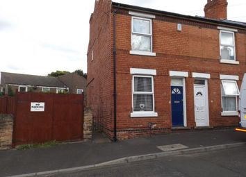 Thumbnail 2 bed end terrace house for sale in Dove Street, Bulwell, Nottinghamshire