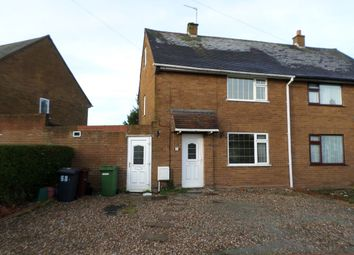 Thumbnail 2 Bed Semi Detached House To Rent In Snape Road Wednesfield Wolverhampton