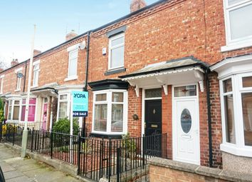 Thumbnail 2 bed terraced house for sale in Vine Street, Darlington