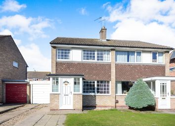 Thumbnail 3 bed semi-detached house for sale in Lowfield Drive, Haxby, York