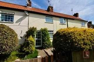 2 bed terraced house for sale in Main Road, Lower Somersham, Ipswich IP8