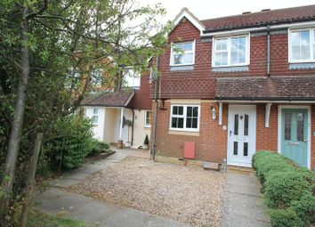 Thumbnail 2 bed terraced house for sale in Vickers Close, Hawkinge, Folkestone