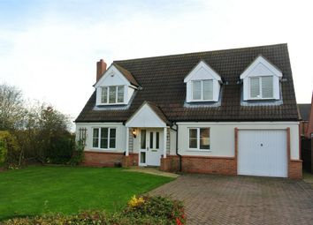 Thumbnail 3 bed detached house for sale in Walsingham Drive, Corby Glen, Grantham, Lincolnshire