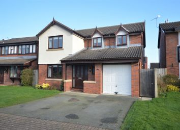 Thumbnail 4 bed detached house for sale in Teddington Close, Appleton, Warrington