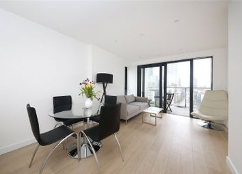 Thumbnail 1 bed flat for sale in Horizons Tower, 1 Yabsley Street, London