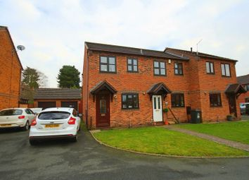 Thumbnail 2 bed end terrace house for sale in Ridings Close, Market Drayton