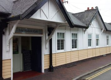 Thumbnail Restaurant/cafe to let in Station Square, Pwllheli