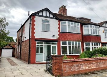 Thumbnail 4 bedroom semi-detached house to rent in Wardley Avenue, Chorlton Cum Hardy, Manchester