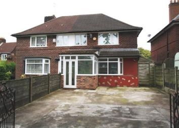 Thumbnail 3 bed semi-detached house for sale in Woodhouse Lane, Manchester