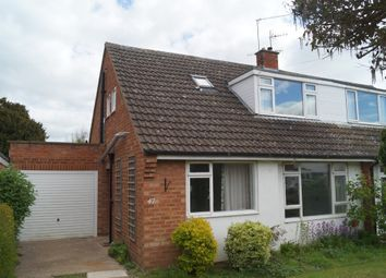Thumbnail 3 bed semi-detached house for sale in Riverview Close, Worcester
