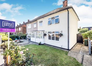 Thumbnail 3 bed semi-detached house for sale in Manford Way, Chigwell