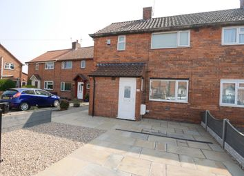 Thumbnail 2 bed end terrace house for sale in Derwent Crescent, Howden, Goole