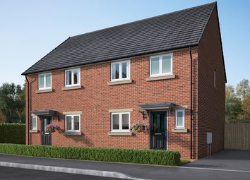 "Thumbnail 3 bedroom semi-detached house for sale in ""The Eveleigh"" at Ripon Road, Killinghall, Harrogate"