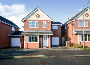 Thumbnail 4 bed detached house for sale in Winchester Close, North Wingfield, Chesterfield