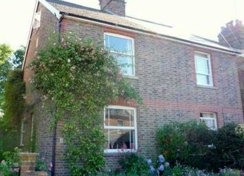 Thumbnail 3 bed semi-detached house to rent in Meadow Road, Groombridge, Tunbridge Wells