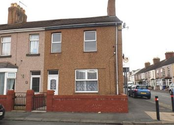 Thumbnail 3 bed end terrace house for sale in Ernest Street, Rhyl, Denbighshire