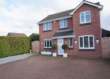 Thumbnail Detached house for sale in Chervil Close, Meir Park, Stoke-On-Trent, Staffordshire