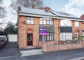 Thumbnail 3 bed semi-detached house for sale in Park Close, Swadlincote