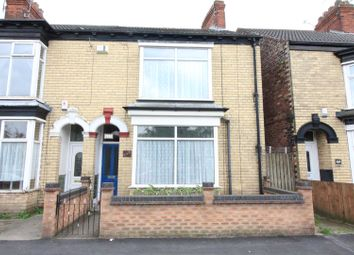 Thumbnail 2 bed end terrace house for sale in Spring Bank West, Hull