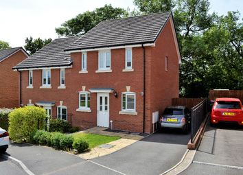 Thumbnail 3 bed semi-detached house for sale in Thorncliffe Road, St. Dials, Cwmbran