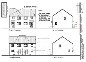 Thumbnail 3 bedroom semi-detached house for sale in Cresswell Street, King's Lynn