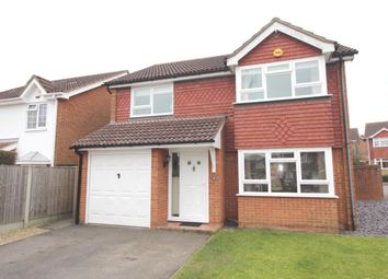 Thumbnail 4 bed detached house for sale in Hazelwood Drive, Maidstone