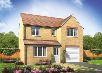 "Thumbnail 4 bed detached house for sale in ""The Longthorpe"" at Hay-On-Wye, Hereford"