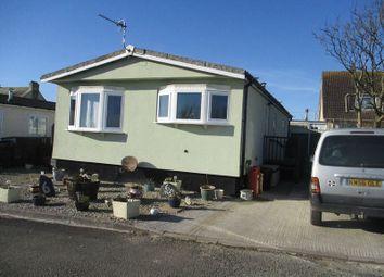 Thumbnail 2 bed mobile/park home for sale in Planet Park, Delabole