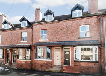 Thumbnail 4 bed terraced house for sale in Shirburn Road, Leek, Staffordshire