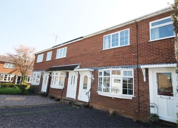 Thumbnail 2 bed town house for sale in Norfolk Close, Warsop, Mansfield, Nottinghamshire