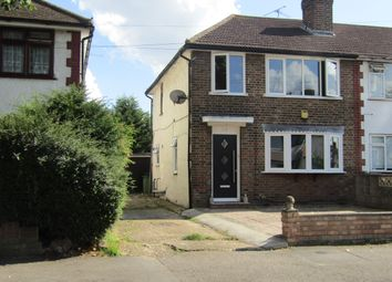 Thumbnail 3 bedroom end terrace house for sale in Woodcote Avenue, Hornchurch