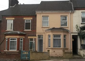 Thumbnail 3 bed terraced house for sale in Tennyson Road, Luton