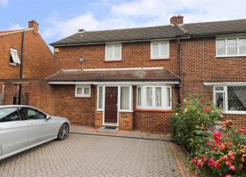 Thumbnail 3 bed end terrace house for sale in Beech Close, West Drayton