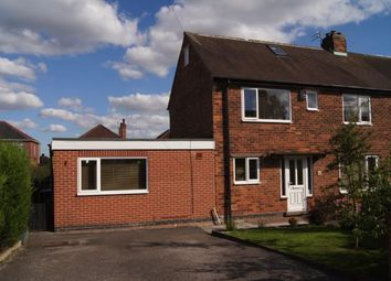 Thumbnail 4 bed semi-detached house for sale in Welbeck Avenue, Gedling, Nottingham