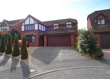 Thumbnail 4 bed detached house to rent in Auden Close, Ewloe, Deeside