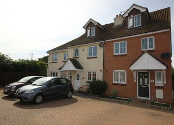 Thumbnail 4 bed end terrace house for sale in The Rickyard, Marston Moretaine, Bedford