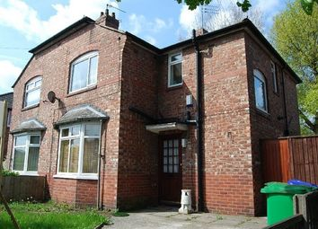 Thumbnail 4 bed semi-detached house to rent in Yew Tree Road, Withington, Manchester