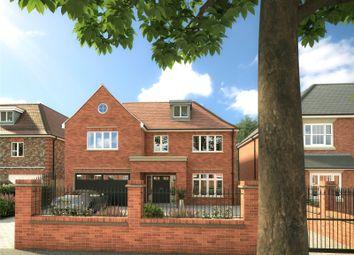 Thumbnail 5 bedroom detached house for sale in Broadlands Avenue, Shepperton, Surrey