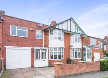 Thumbnail 4 bed semi-detached house for sale in Howard Road, Glen Parva, Leicester