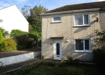 Thumbnail 3 bed semi-detached house for sale in Tai Gwalia, Upper Cwmtwrch, Swansea, City And County Of Swansea.