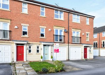 Thumbnail 3 bed town house for sale in Crystal Close, Mickleover, Derby
