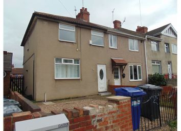 Thumbnail 3 bed end terrace house for sale in Edlington, Doncaster