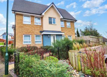 3 bed semi-detached house for sale in Egerton Close, Belvedere, Kent DA17