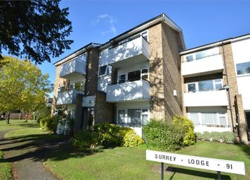 Thumbnail 2 bed flat for sale in Surrey Lodge, Queens Road, Hersham Village, Surrey